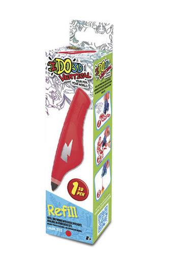IDO3D Vertical: náhradní náplň - červená - neuveden