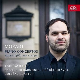 Mozart: Klavírní koncerty - CD - Jan Bartoš