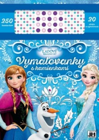 Vymaľovanky s kamienkami/ Ľadové kráľovstvo - Disney