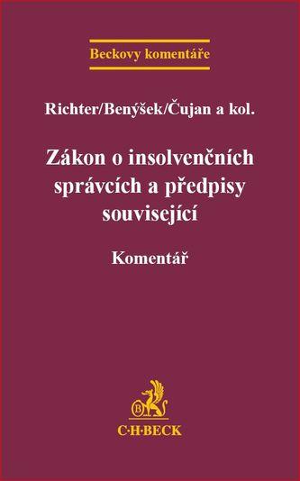 Zákon o insolvenčních správcích a předpisy související - Richter, Martin