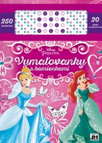 Vymaľovanky s kamienkami/ Disney Princezné - Disney