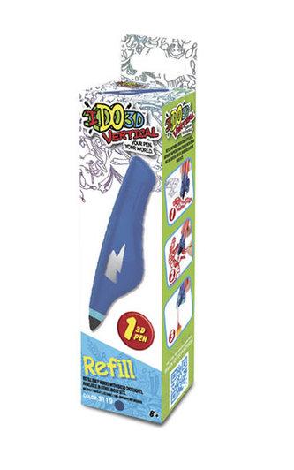 IDO3D Vertical: náhradní náplň - modrá - neuveden