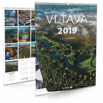 Kalendář 2019 - Vltava - nástěnný - Sváček Libor
