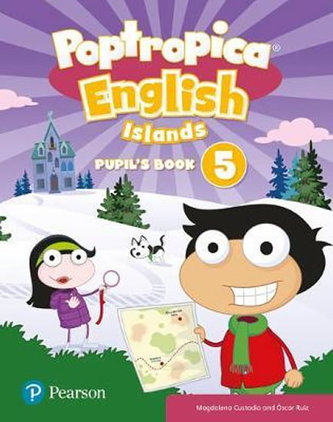 Poptropica English Level 5 Pupil´s Book and Online Game Access Card Pack - Jolly Aaron