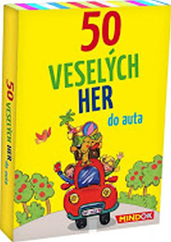 50 veselých her do auta - Berger, Nicola