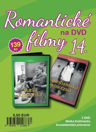 Romantické filmy 14 - 2 DVD - neuveden