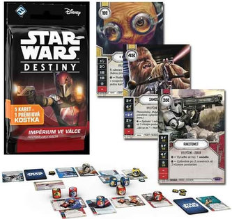 ADC Blackfire Entertainment - Star Wars Destiny: Impérium ve válce - doplňkový balíček