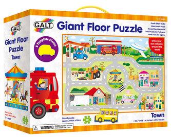 James Galt - Velké podlahové puzzle - Město