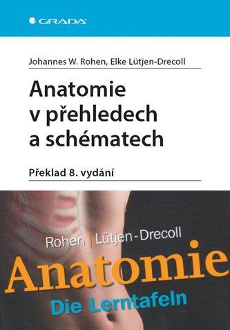 Anatomie v přehledech a schématech - Johannes W. Rohen