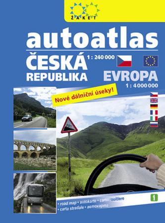 Autoatlas Česká republika + Evropa