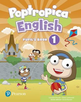 Poptropica English Level 1 Pupil´s Book and Online Game Access Card Pack - Linnette Ansel Erocak, Regina Raczyńska