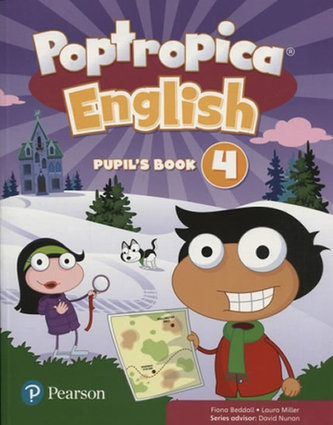 Poptropica English Level 4 Pupil´s Book and Online Game Access Card Pack - Beddall Fiona