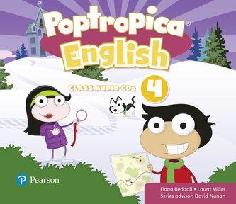 Poptropica English Level 4 Audio CD - Beddall Fiona