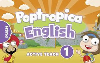 Poptropica English Level 1 Active Teach USB - Linnette Ansel Erocak, Regina Raczyńska