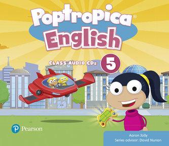 Poptropica English Level 5 Audio CD - Jolly Aaron