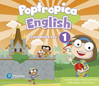 Poptropica English Level 1 Audio CD - Linnette Ansel Erocak, Regina Raczyńska