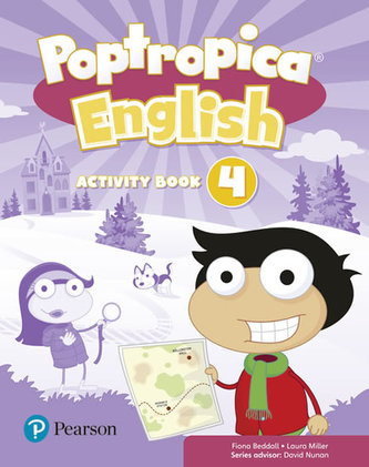 Poptropica English Level 4 Activity Book - Beddall Fiona