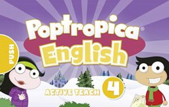 Poptropica English Level 4 Active Teach USB - Beddall Fiona