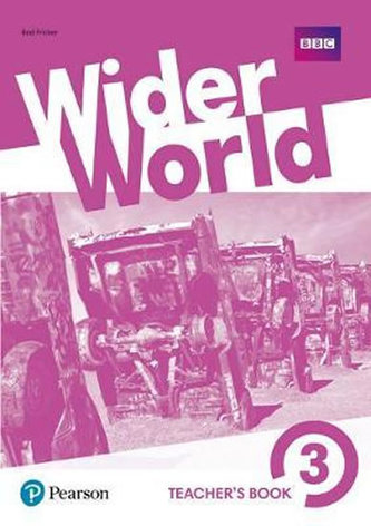 Wider World 3 Teacher´s Book with MyEnglishLab & Online Extra Homework + DVD-ROM Pack - Fricker Rod