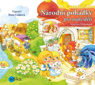 Národní pohádky pro malé děti (audiokniha pro děti) - Martina Drijverová