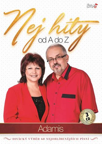 ČESKÁ MUZIKA - Duo Adamis - Nej Hity A-Z - 3 CD