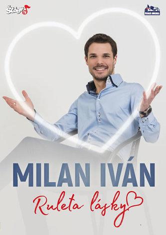 Iván Milan - Ruleta lásky - CD + DVD - ČESKÁ MUZIKA