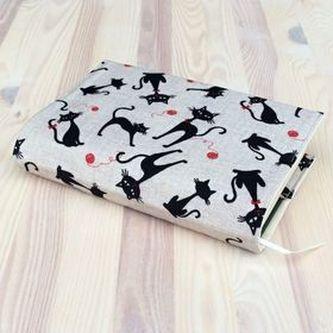 Obal na knihu Kočky v béžové