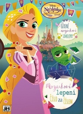 Na vlásku - Mozaikové lepení - Disney Walt