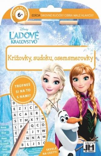 Krížovky, sudoku,osemsmerovky/Ľadové kráľovstvo - Disney