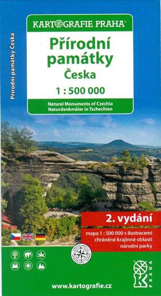 Přírodní památky České republiky/1:500 tis.(tematická mapa)