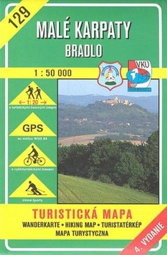 Malé Karpaty - Bradlo 1 : 50 000 - kolektiv