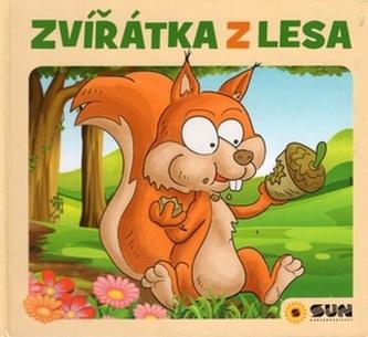 Zvířátka z lesa - leporelo - Dita Křišťanová