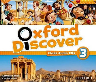 Oxford Discover 3: Class Audio CDs - Koustaff Lesley, Rivers Susan
