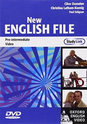 New English File: Pre-Intermediate StudyLink Video : Six-level general English course for adults - Oxenden Clive