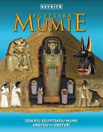 Egyptská mumie zevnitř - Odkryj egyptskou mumii vrstvu po vrstvě! - Hopping Lorraine Jean