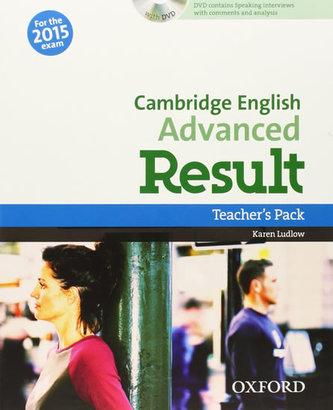 Cambridge English Advanced Result Teacher´s Book with DVD - Gude Kathy