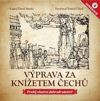 Gamebook 4: Výprava za knížetem Čechů - David Bimka