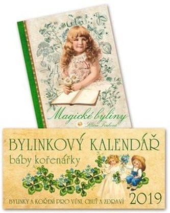 Kalendář 2019 - Bylinkový + Magické bylinky - Klára Trnková