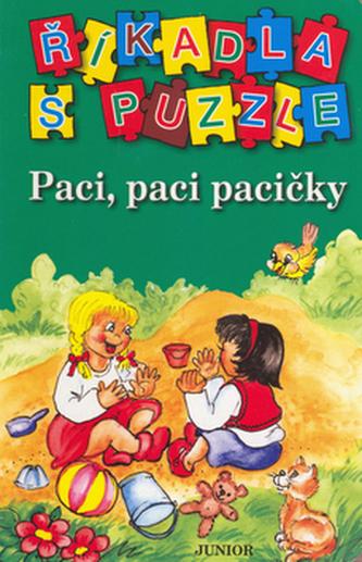 Říkadla s puzzle Paci, paci pacičky