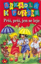 Říkadla s puzzle Prší, prší, jen se leje
