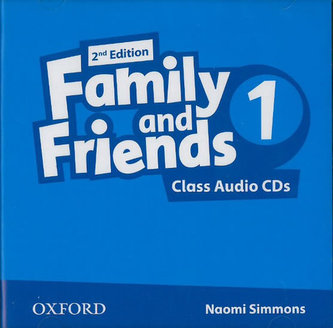 Family and Friends 2nd Edition 1 Class Audio CDs /2/ - Simmons Naomi