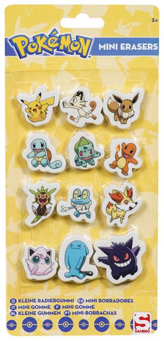 Pokémon: dětské školní gumy - ADC Blackfire Entetainment