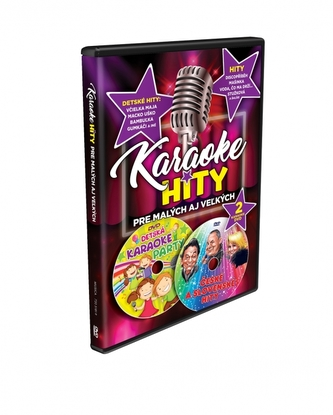 DVD - Karaoke Hity 2X DVD - ZUNE TRADE,s. r. o.