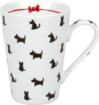 Hrnek - Psi s červenými obojky / Red necklace