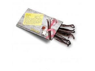 Pohled s dárkem: Vanilka (vanilkový lusk) - Pohledy s dárkem