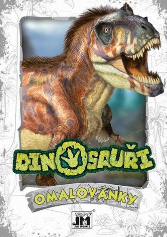 Omalovánky A5+ Dinosauři