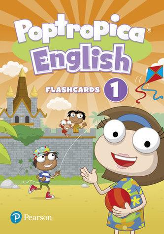 Poptropica English Level 1 Flashcards - Linnette Ansel Erocak, Regina Raczyńska