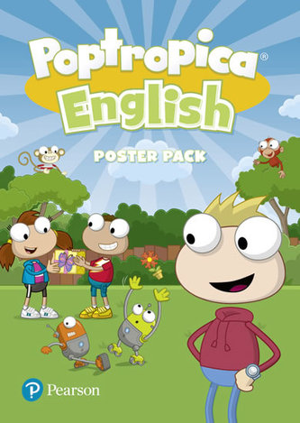 Poptropica English Poster Pack - Tessa Lochowski