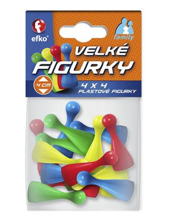 EFKO - Velké figurky - 4x4 plastové figurky