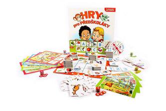 EFKO - Hry pro předškoláky: 11 originálních her a pomůcek